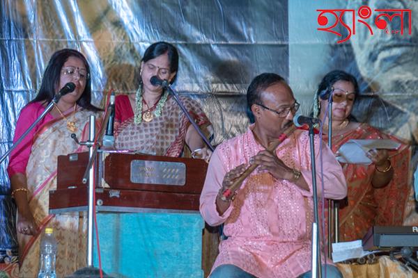 করুণ রসে সুর তুলল মালঞ্চ আবাসিকবৃন্দ
